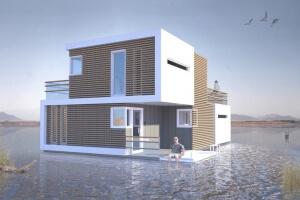 deel- en koppelbaar huis