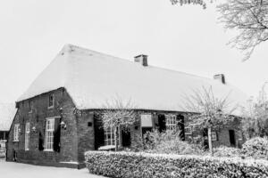 rijksmonument woonboerderij in Den Dungen