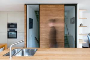 verbouwing keuken en make-over woonkamer