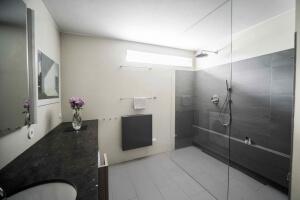 verbouwing badkamer door een architect, kleur
