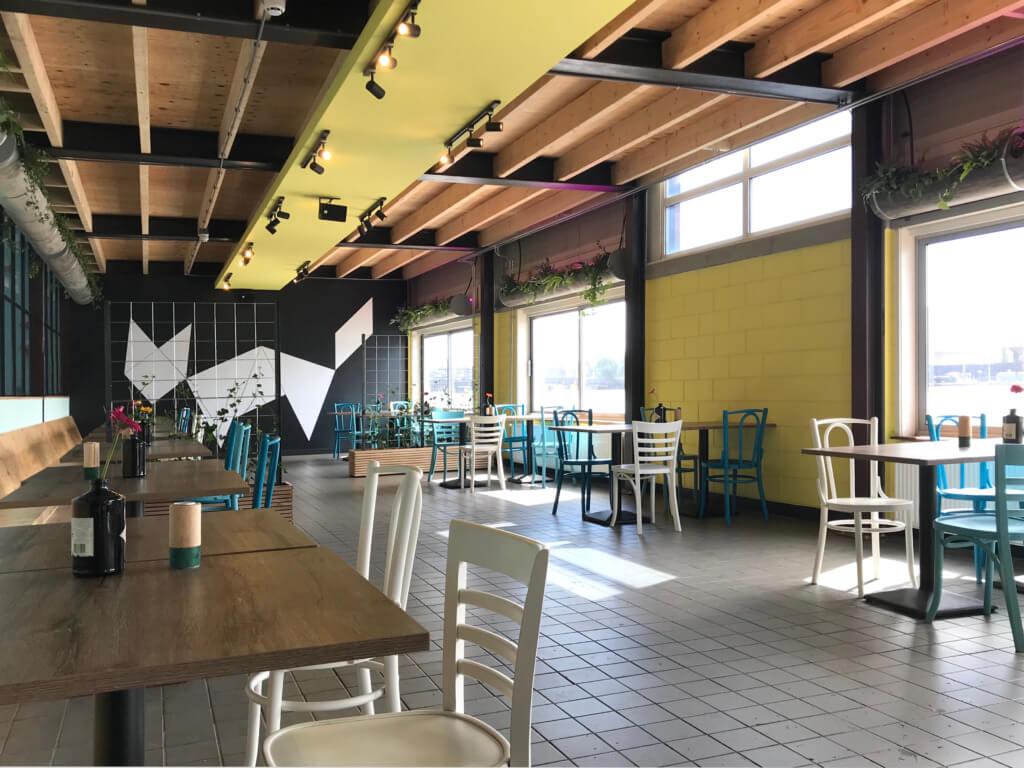 bouldergym vergunningsaanvraag restaurant