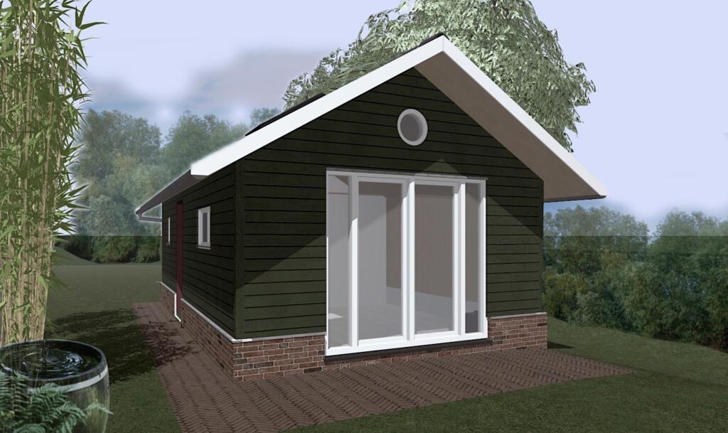 nieuwbouw logeerhuis gasloos architect - voorgevel